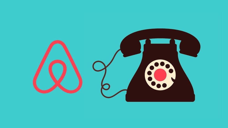 Airbnb phone / téléphone number